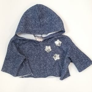 Pastourelle By Pippa & Julie Crop toddler hoodie